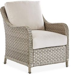 Mayfair Wicker Club Chair, Gray/Canvas One Kings Lane White Dining Room Chairs, Tufted Dining Chairs, Shabby Chic Table And Chairs, Modern Dining Chairs, Vintage Chairs, Rattan Chairs, Black Chairs, Desk Chairs, Dining Table