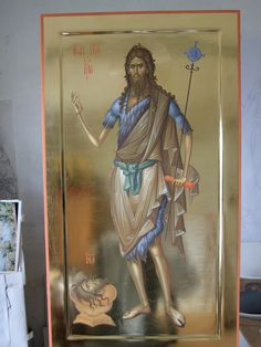 Byzantine Art, Sketch Book, Painting, Orthodox Christian Icons, Art, Johannes, St John, Byzantine, Zelda Characters