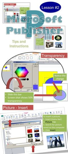 Lesson #2 - This lesson includes screen shots and instruction bubbles to make it easy for teachers and students to use Microsoft Publisher •	Properly formatting Shapes, Text Boxes and Pictures can really help to enhance the appearance of Publisher documents