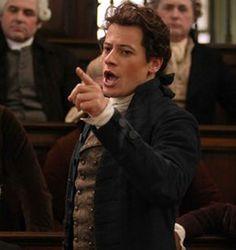 Ioan Gruffudd as William Wilberforce in Amazing Grace.