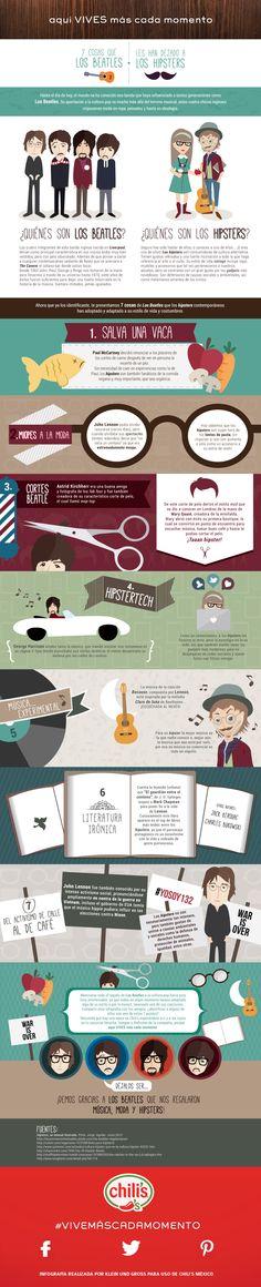Siete cosas que Los Beatles les han dejado a los hipsters.