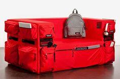 sofa with storage design