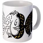 Colorful Fishes Mug $13.19