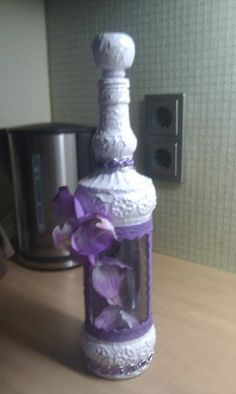 orchidee in fles made by hilda