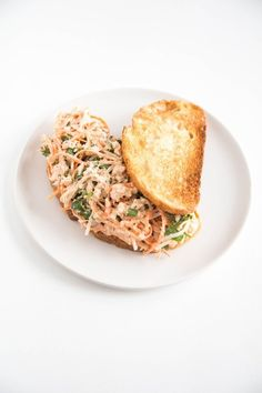 No more boring tuna salad sandwiches for lunch. Bust the monotony with one of these 5 easy ways to make a tastier tuna salad sandwich, including this Bánh Mì-Style Tuna Sandwich.