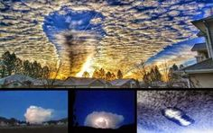 UFO Sightings Hotspot: Strange UFO clouds captured over Washington State, British Columbia, Bulgaria and Mexico