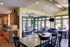 Arlington Heights Home Addition - Great Room and Kitchen