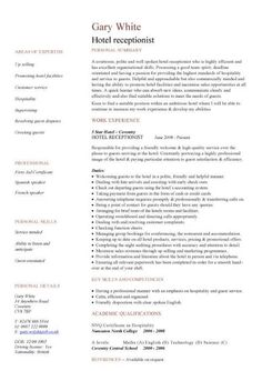 Personal Statement For Resume Fascinating How The Personal Profile Statement Looks Like On A Cv  Strong .