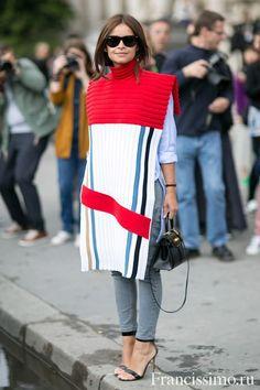 Неделя Высокой Моды в Париже - уличный стиль.