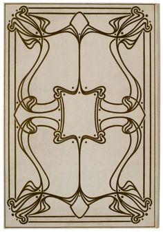 Henry Van de Velde and Art Nouveau bookbinding in Belgium (1892-1900)  The Art Nouveau style in Belgium is known for the interplay of supple lines and movements as well as for the stylisation of ornamental flowers, both figurative and linear. Belgian bookbinding has been particularly influenced by the strong personality of the architect and decorator Henry Van de Velde.