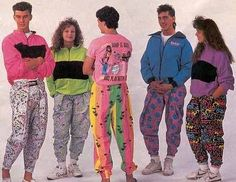 90s Fashion - hammer pants and tight roll at the bottom BAHAHAHAHA