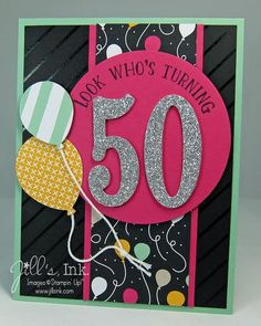 Number of Years Card Sharp - SU - birthday 50th Birthday Cards For Women, 40th Birthday Quotes, Special Birthday Cards, Birthday Gag Gifts, Bday Cards, Birthday Ideas, 70th Birthday, Grandpa Birthday, Happy Birthday