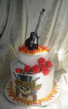 Guns N' Roses  - Cake by Olanuta Alexandra