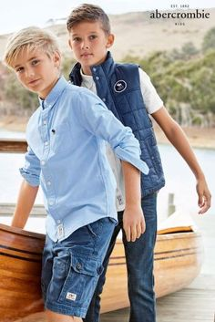 Play the smart casual vibe in these cool Abercrombie & Fitch shirts