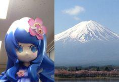 Mascot of FujiYoshida City (富士吉田) Saori-chan (桜織ちゃん) http://saori223.web.fc2.com/
