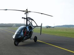 Gyrocopter - Finally, Is this the flying car that's also a boat and a mini submarine?  If the PAL-V gyrocopter does all of this yayy the future is here!