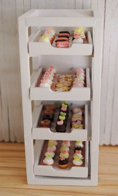 Miniature Bakery Display Rack - ask her who made rack