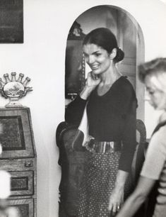 EVGENIA GL Jackie Kennedy and Family Shopping in Capri - August 24, 1970