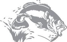 62 Ideas wood burning stencils silhouettes glass etching for 2019 Wood Burning Stencils, Wood Burning Patterns, Wood Burning Art, Fish Stencil, Glass Etching Stencils, Fish Silhouette, Stencil Patterns, Tattoo Patterns, Loom Patterns