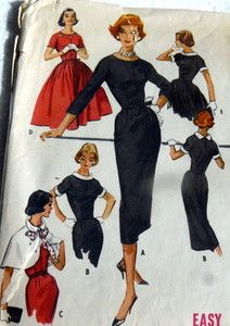 Lots of lovely classic options in this 1950s vintage pattern.