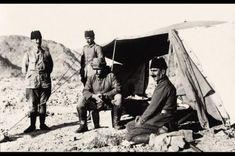 y.1916 Osmanli Fahreddin Paşa  Yenbu'da- Suudi Arabistan harbinde İngiliz/Arap Müttefik Kuvvetler karşısına .