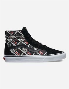 393b25da54 VANS x Nintendo Controller Sk8-Hi Shoes from Tillys Vans Shoes