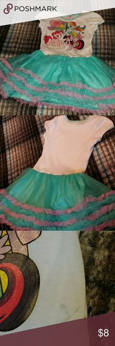 My little pony dress play wear dress My Little Pony characters Worn a few times Non smoking home  Willing to negotiate with you My Little Pony Dresses Casual