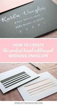 How to print a return address on the back flap of your invitations 5 tips for diy wedding envelope addressing 2 free downloadable template to help you create filmwisefo