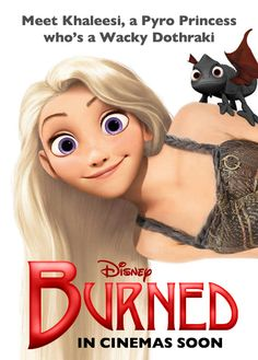 @Brittni Wisner this is what Disney's Game of Thrones would have looked like. bahahahaha