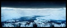 Matte painting by Dhamindra Jeevan, via Behance
