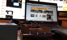 Diamond Multimedia's graphics adapter provides dual display output with only a single USB connection. Smart Car, Multimedia, Computers, Smartphone, Gadgets, Gaming, Usb, Tech, Graphics