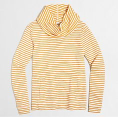 Crew Factory for the Striped funnelneck sweatshirt for Women. Find the best selection of Women Shirts & Tops available in-stores and online. Sweater Outfits, Men Sweater, Discount Mens Clothing, J Crew Style, Hoodies, Sweatshirts, Kids Outfits, Clothes For Women, Stylish