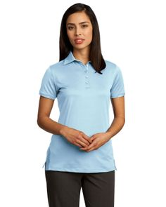 Red House - Ladies Ottoman Performance Polo - RH52,A distinctive ottoman rib knit gives refined style while moisture-wicking performance delivers cooling confidence.