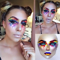 """4,223 Likes, 13 Comments - Sergey X (@milk1422) on Instagram: """"#artist@milk1422 #artist @mikkabae Perfectly done makeup ❤thank you so much @mikkabae very…"""""""