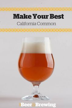 A great beer to brew, drink, and have on hand throughout the late summer and into fall.