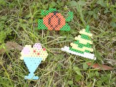 colorful bead decoration by TheStrayShop on Etsy
