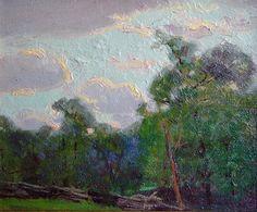 Split Rail Fence, 1923, Paul Turner Sargent (1880 – 1946)
