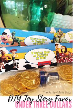 Toy Story Party Favors DIY