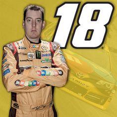 #what18needs Sprint Race, Nascar Sprint, Kyle Busch Nascar, Nascar Racing, Car And Driver, Race Cars, Baseball Cards, Man Cave, Sports