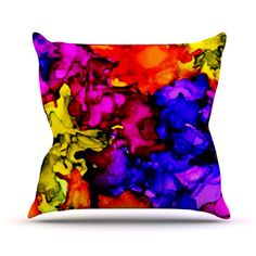 "Claire Day ""Chica"" Outdoor Throw Pillow"