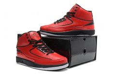 Nike Air Jordan 2 II Mens Shoes 2014 Red My hubby would love these