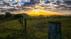Sunrise over the Hunter Valley, NSW, Australia