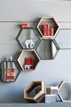 The Homeport Collections  Chantal Honeycomb Shadowbox