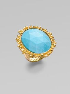 Alexis Bittar ring...fabulous!  I never grow tired of a good statement ring.  I have quite the collection!