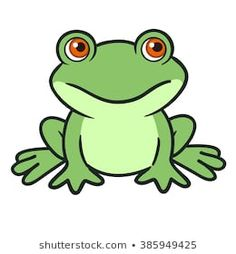 cartoon frog - Google Search Drawing Rocks, Frog Drawing, Drawing For Kids, Frosch Illustration, Inkscape Tutorials, Animal Stencil, Cute Canvas Paintings, Cartoon Drawings Of Animals, Cute Frogs