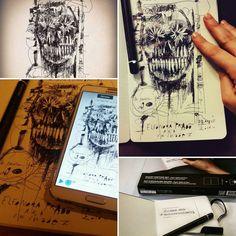 #eleonoraprado e lo Smart Writing Set di #moleskine...tra pochi giorni in mostra a Milano