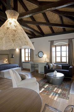 Junior Suite at the Kinsterna Hotel & Spa in Monemvasia