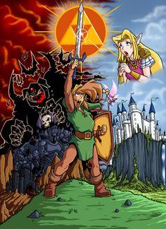 Legend of Zelda  by Lord Stevie