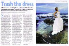 \Beach Wedding Trash The Dress\