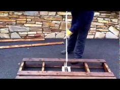 Pallet buster bar, pallet breaking, pallet dismantler   2 way and 4 way ...